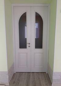 Дверь деревянная индивидульного исполнения
